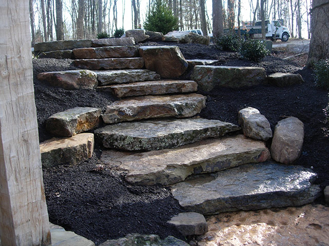 Natural Stone Project Ideas - Natural Stone Landscaping Aching Acres Landscaping